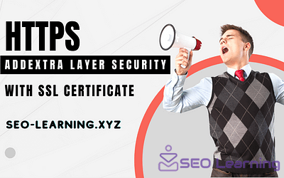 add extra layer security with SSL certificate
