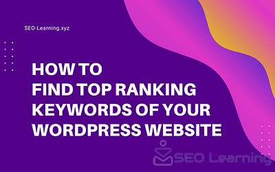 How to Find Top Ranking Keywords of Your WordPress Website