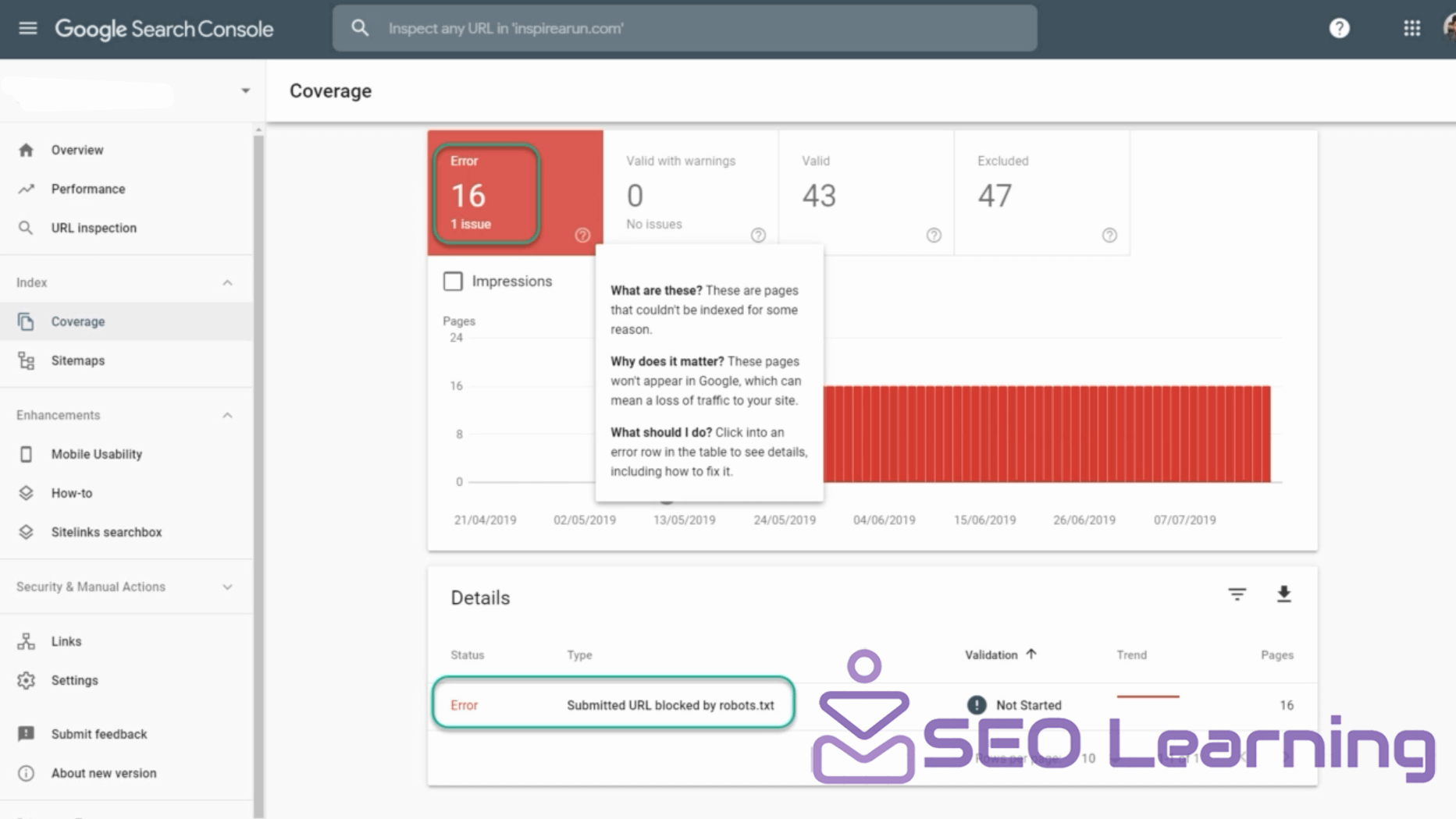 How To Add Sitemap Of Your Site To Google Search Console SEO-learning.xyz