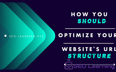 How you should optimize your website's URL structure-SEO-Learining.xyz